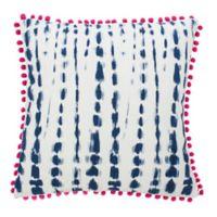 Safavieh Atalia Square Throw Pillow in Pink/Cream