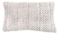 Safavieh Barlett Oblong Throw Pillow in Light Grey
