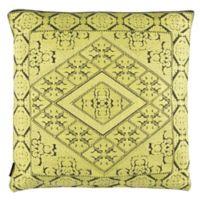 Safavieh Priya Square Throw Pillow in Yellow