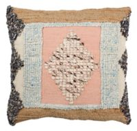Safavieh Arden Square Throw Pillow in Pink/Multi