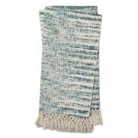 Magnolia Home by Joanna Gaines Else Throw Blanket in Blue