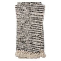 Magnolia Home by Joanna Gaines Else Throw Blanket in Black