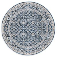 Safavieh Laguna 6'7 Round Area Rug in Navy
