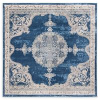 Safavieh Fremont 6'7 Square Area Rug in Navy