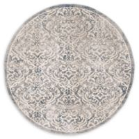 Safavieh Brentwood Salem 6'7 Round Area Rug in Light Grey