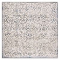 Safavieh Brentwood Salem 6'7 Square Area Rug in Light Grey
