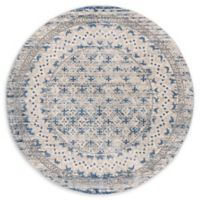 Safavieh Brentwood Destin 6'7 Round Area Rug in Light Grey