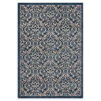 Safavieh Brentwood Salem 8' x 10' Area Rug in White/Navy