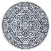 Safavieh Brentwood Canyon 6'7 Round Area Rug in Navy