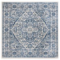 Safavieh Brentwood Canyon 6'7 Square Area Rug in Navy