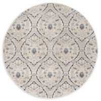 Safavieh Brentwood Brandon 6'7 Round Area Rug in Light Grey