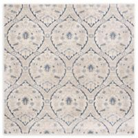 Safavieh Brentwood Brandon 6'7 Square Area Rug in Light Grey