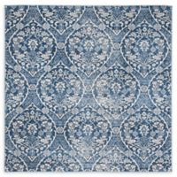 Safavieh Brentwood Brandon 6'7 Square Area Rug in Navy