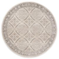 Safavieh Brentwood Oakland 6'7 Round Area Rug in Cream