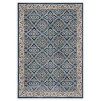 Safavieh Brentwood Oakland 4' x 6' Area Rug in Navy