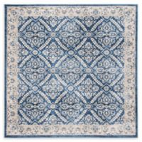 Safavieh Brentwood Oakland 6'7 Square Area Rug in Navy