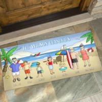 Summer Fun Characters 24-Inch x 48-Inch Doormat