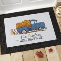 Classic Fall Vintage Truck 18-Inch x 27-Inch Doormat
