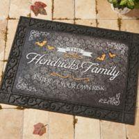 Haunted Halloween 18-Inch x 27-Inch Doormat