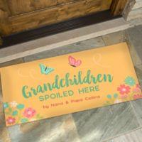 Grandchildren Spoiled Here 24-Inch x 48-Inch Doormat
