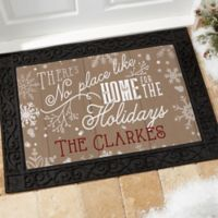 No Place Like Home 18-Inch x 27-Inch Doormat