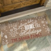No Place Like Home 24-Inch x 48-Inch Doormat