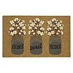 "Mohawk Home® Cotton Jars 18"" x 30"" Door Mat in Tan"