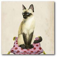 Courtside Market™ Lady Cat Canvas Wall Art