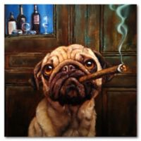 Courtside Market™ Uptown Pug Canvas Wall Art