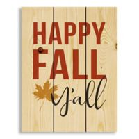 """Direct Designs """"Happy Fall Y'All"""" Pallet Wood Wall Art"""