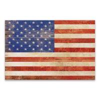 American Flag 36-Inch x 24-Inch Canvas Wall Art