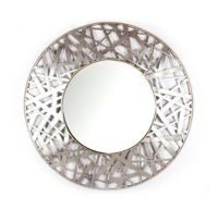 36-Inch Round Decorative Wall Mirror