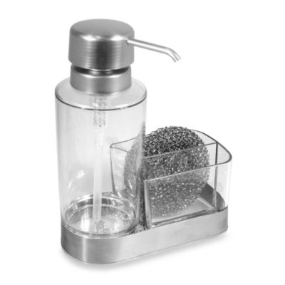 Buy soap dispenser caddy from bed bath beyond Dish soap dispenser