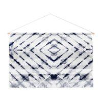 Little Arrow Shibori Landscape 32-Inch x 47-Inch Wall Art in Blue