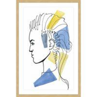 Marmont Hill Eccentric 16-Inch x 24-Inch Framed Wall Art