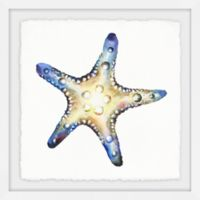 Marmont Hill Glowing Starfish 18-Inch Squared Framed Wall Art