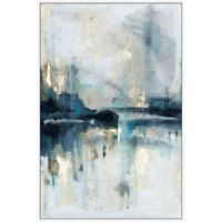 Marmont Hill Senne Flueve 16-Inch x 24-Inch Floater Framed Canvas Wall Art