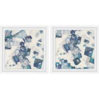 Marmont Hill 2-Piece Fantasia 48-Inch x 24-Inch Framed Wall Art Set