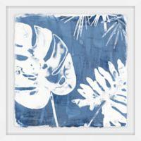 Marmont Hill Tropical Indigo Impressions II 12-Inch Squared Framed Wall Art