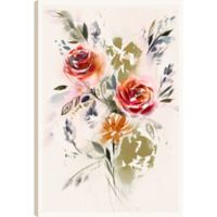 The Flowers XVI 36-Inch x 24-Inch Canvas Wall Art
