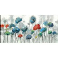 The Flowers 30-Inch x 60-Inch Canvas Wall Art