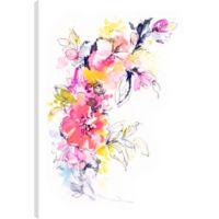 Floral Romance II 36-Inch x 24-Inch Canvas Wall Art