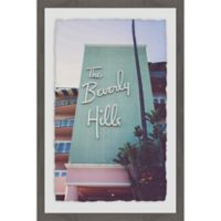 Marmont Hill Beverly Hills Hotel 12-Inch x 18-Inch Framed Wall Art