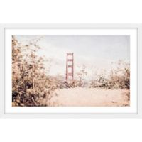 Marmont Hill From Afar 24-Inch x 16-Inch Framed Wall Art