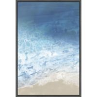 Marmont Hill Ebb & Flow I 16-Inch x 24-Inch Floater Framed Canvas Wall Art