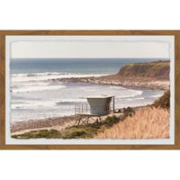 Marmont Hill Summer in Malibu 18-Inch x 12-Inch Framed Wall Art