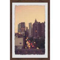 Marmont Hill Manhattan Golden Hour 16-Inch x 24-Inch Framed Wall Art