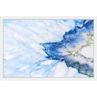 Marmont Hill Snow & Sea 24-Inch x 16-Inch Framed Wall Art