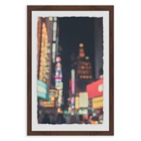 Marmont Hill Times Square Abstract 24-Inch x 36-Inch Framed Wall Art