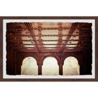 Marmont Hill Central Park II 36-Inch x 24-Inch Framed Wall Art
